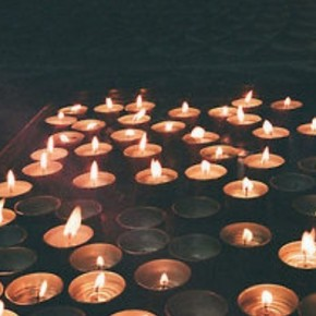 Candles of prayer for Connecticut victims: Healing collective patterns by Lena Stevens~