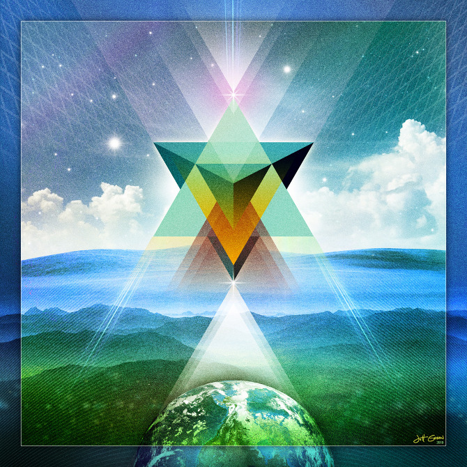 Star of David – Merkaba – Grand Sextile Portal on July 29th 2013 ...