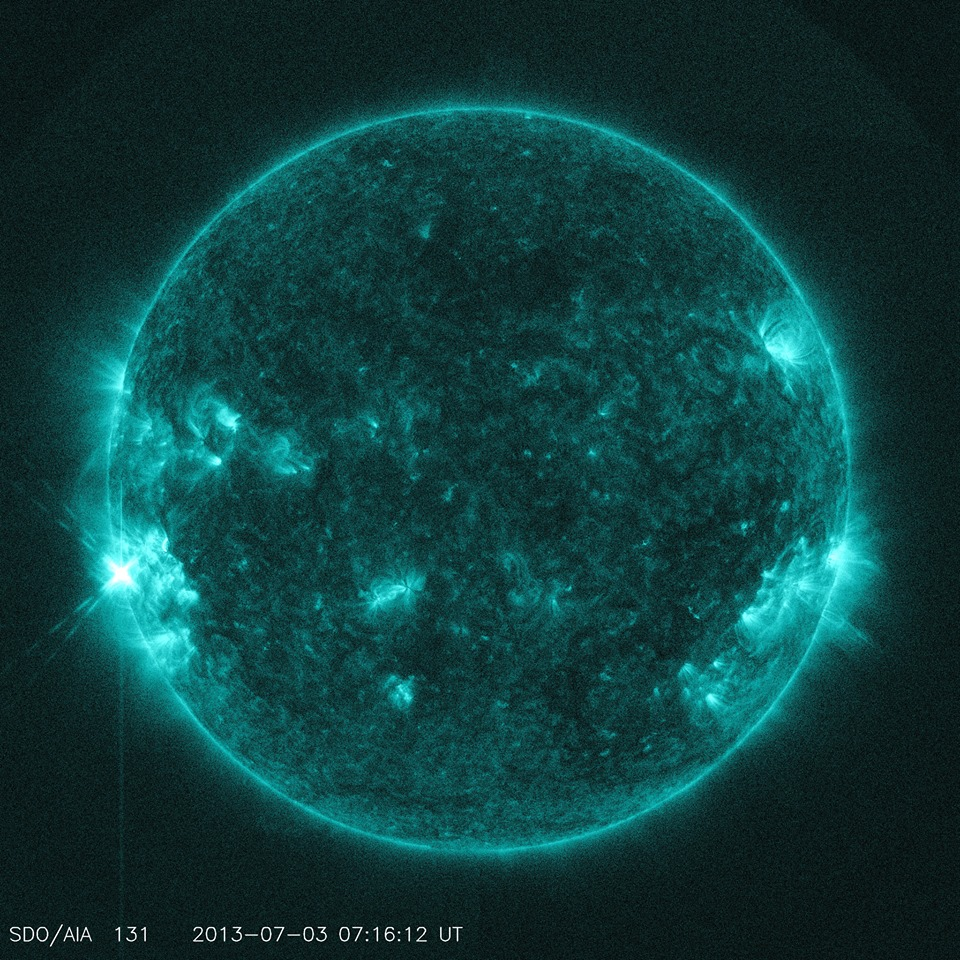 Recent Solar Flare Activity July 1-3rd and its effects ...