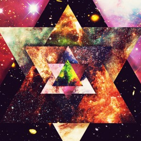 """Twin"" Star of David Star Tetrahedron Merkaba August 25th 2013: Peace Portal~"