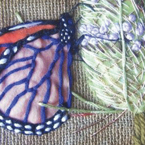 The butterfly is the symbol of man's spiritual transformation~