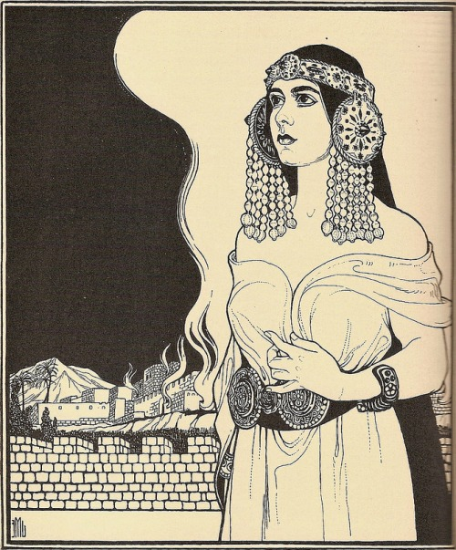 Ephraim Moses Lilien via MYSTIC MAMMA