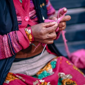 Kaypacha Report: Life is a process of knitting the threads~