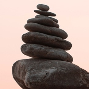 The theme for October 2017 is INNER STABILITY ANDBALANCE~